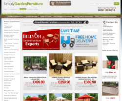 Simply Garden Furniture折扣碼